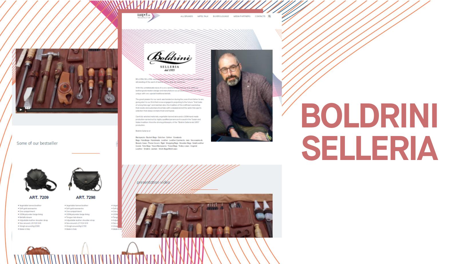 BOLDRINI SELLERIA - mipelthedigitalshow.com