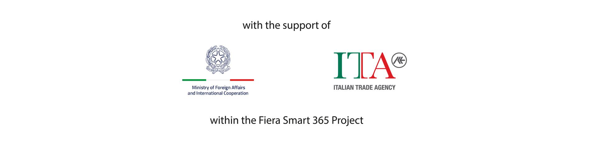 with the support of MAECI and ITA within the Fiera Smart 365 Project