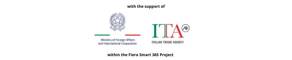 With the support of MAECI & ITA within the Fiera Smart 365 Project